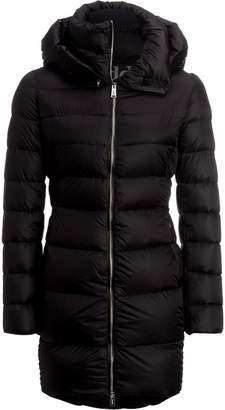 ADD White Goose Down Hooded Coat - Women's