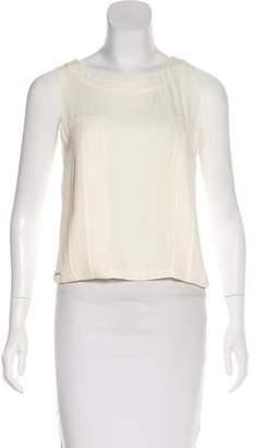Chanel Silk Sleeveless Top