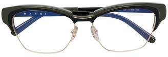 Marni Eyewear square frame glasses