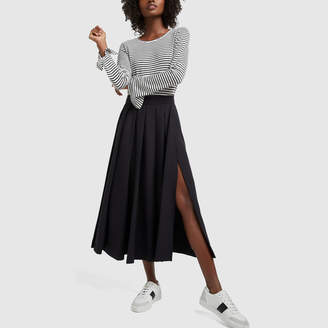 G. Label Carr Layered Pleated Skirt