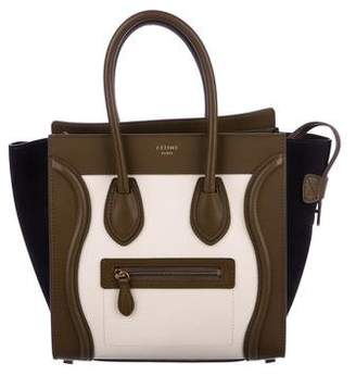 Celine Tricolor Micro Luggage w/ Tags