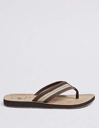 Marks and Spencer Striped Detail Slip-on Flip Flops