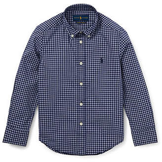 Ralph Lauren Little Boy's Plaid Stretch Cotton Shirt