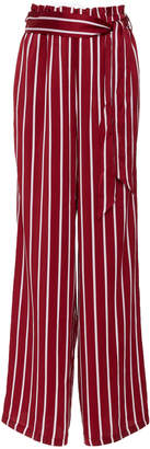 Asceno Belted Wide Leg Trouser