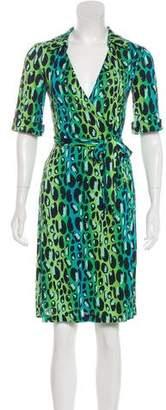 Diane von Furstenberg Silk Animal Print Dress