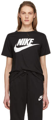 Nike Black Essential Logo T-Shirt