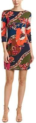 Trina Turk Trina Women's Marybeth Peony Swirl Matte Jersey Dress