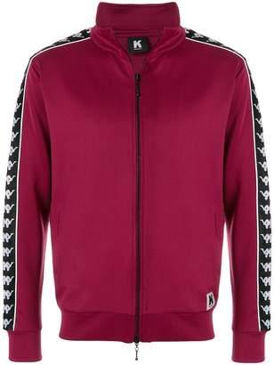 Kappa branded sleeve sport jacket