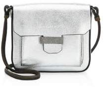 Brunello Cucinelli Metallic Leather Crossbody Bag