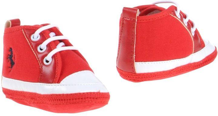 FerrariFERRARI Newborn shoes