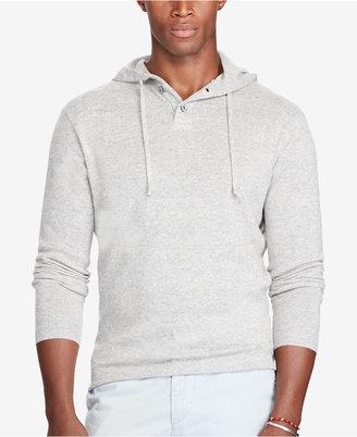 Polo Ralph Lauren Men's Cashmere Hoodie $298 thestylecure.com