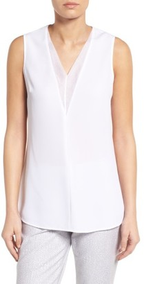 Women's Nic+Zoe Batiste Trim Top $118 thestylecure.com