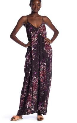 Love Stitch Floral Gauze Maxi Dress