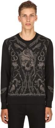Alexander McQueen Found Treasure Embroidered Sweatshirt