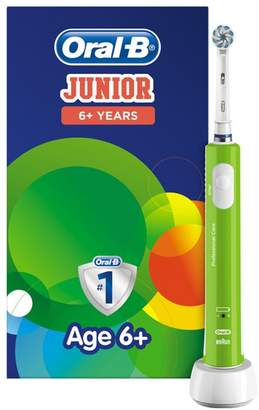 Oral-B Junior Electric Toothbrush For Children Aged 6+ in Green
