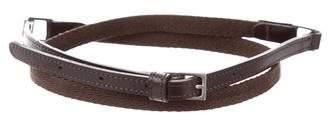 Max Mara 'S Skinny Woven Belt