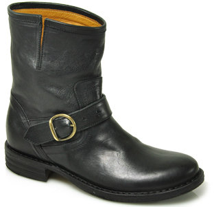 Fiorentini + Baker - Eli - Black Leather Bootie