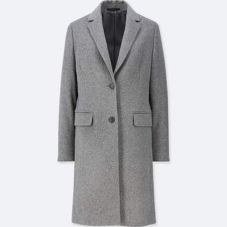 Uniqlo Women's Cashmere Blended Chester Coat