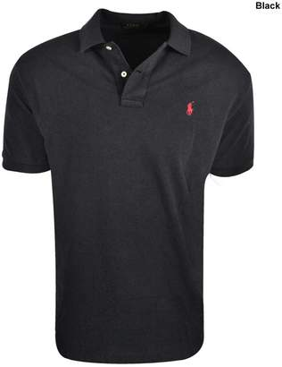 Polo Ralph Lauren New Classic Fit Mesh Polo Black