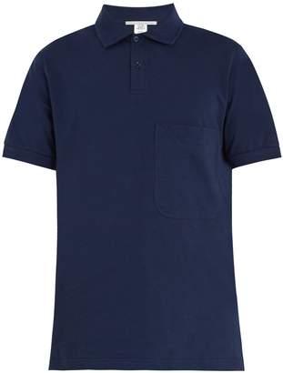 Stella McCartney Short-sleeve cotton polo-shirt
