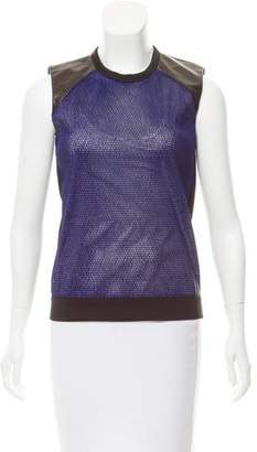 Reed Krakoff Sleeveless Crew Neck Top
