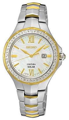 Seiko Women's 'COUTURA' Quartz Stainless Steel Casual Watch