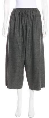 eskandar Wool High-Rise Culottes
