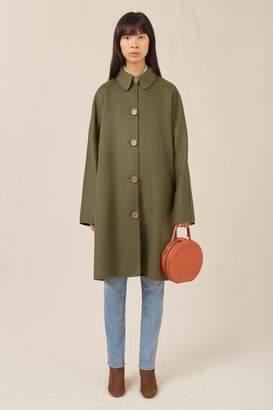Mansur Gavriel Wool Cashmere Elegant Coat