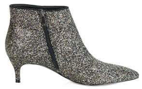 GUESS Dernya Glitter Point-Toe Booties