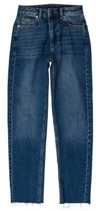 Raey High-Rise Straight-Leg Jeans