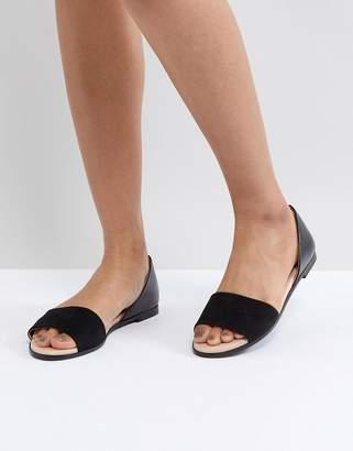 London Rebel Closed Heel Flat Sandal