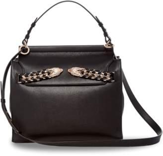 Roberto Cavalli Selleria Top Shoulder Leather Bag
