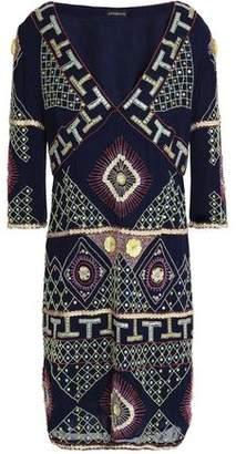 Antik Batik Embellished Georgette Dress