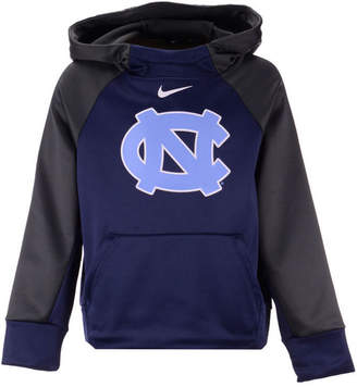 Nike North Carolina Tar Heels Therma Color Block Hoodie, Big Boys (8-20)