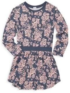 Splendid Girl's Floral Blouson Dress