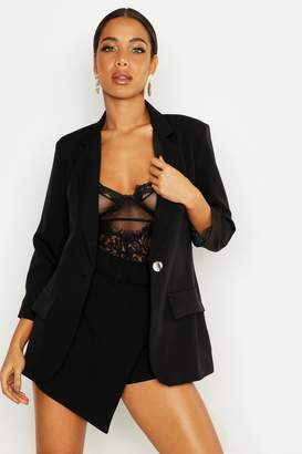boohoo Single Breasted Blazer