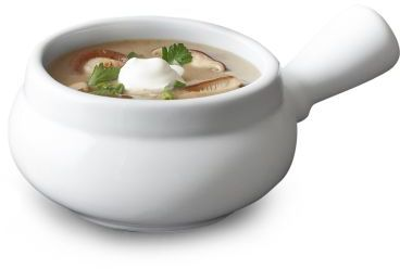 Sur La Table Blanc Soup Bowl with Handle
