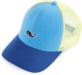 Vineyard Vines High Profile Whale Logo Trucker Hat