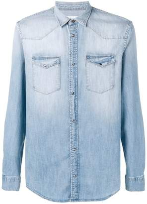 Dondup gradient denim shirt
