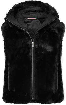 Fusalp - Peggy Hooded Faux Fur Gilet - Black