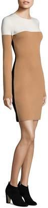 Diane von Furstenberg Women's Crewneck Knitted Dress