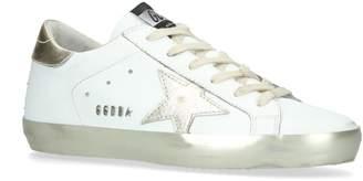 Golden Goose Metallic Superstar Sneakers