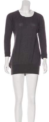 MM6 MAISON MARGIELA Long Sleeve Mini Dress
