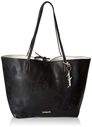 Desigual Bols_ayla Butter Capri Women's Shoulder Bag Black (Negro) (B x H x T)