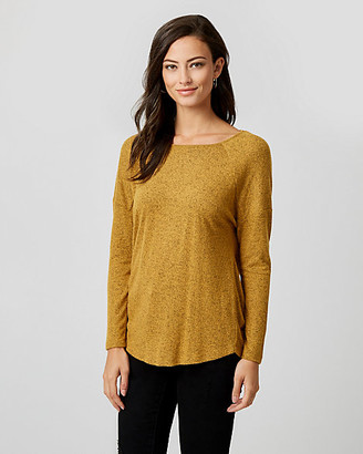 Le Château Cut & Sew Knit Crew Neck Top