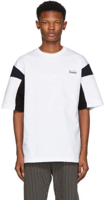 Toga Virilis White and Black Plating T-Shirt