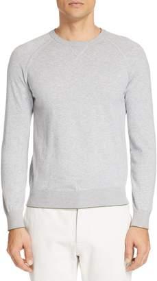 Ermenegildo Zegna Extra Slim Cotton & Cashmere Crewneck Sweater