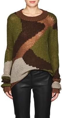 Faith Connexion Women's Camouflage Knit Sweater