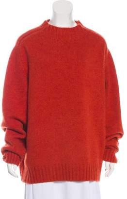 Oscar de la Renta Cashmere Oversize Sweater