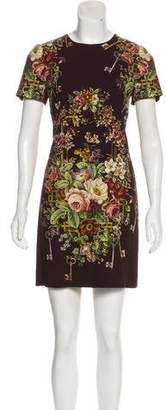 Dolce & Gabbana Printed Mini Dress